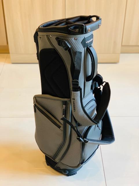 Vessel Player 2.0 Stand Bag Grey Tech