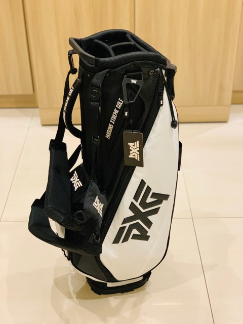 PXG White Lightweight Carry Stand Bag